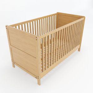 Giường nôi trẻ em gỗ tre 145x75x86 (cm) GTE68003