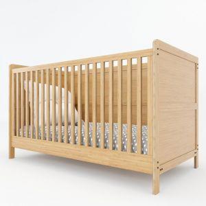 GTE002 - Giường trẻ em gỗ tre 145x75x86 (cm)
