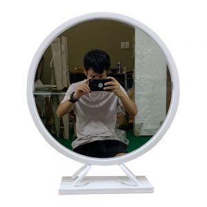 GTD003 - Gương trang điểm PRINCESS màu trắng