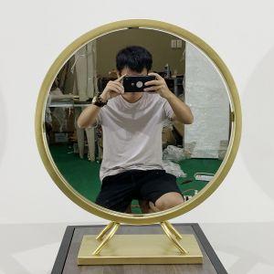GTD004 - Gương trang điểm PRINCESS màu đồng