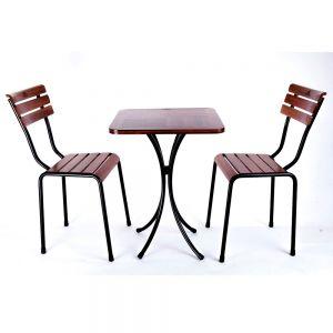 CBCF039 - Combo bộ bàn và 2 ghế cafe ngoài trời Kite