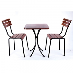 Combo bộ bàn và 2 ghế cafe ngoài trời Kite CBCF039