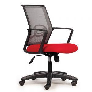 HOM1041-01 - Ghế xoay văn phòng chân nhựa
