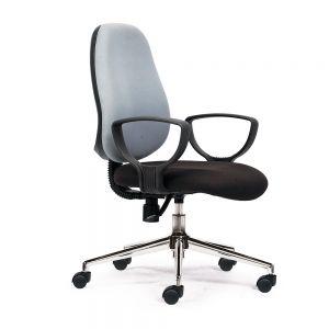 HOM1024-01 - Ghế xoay văn phòng chân sắt