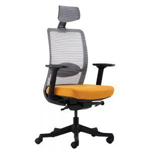HOGVP072 - Ghế văn phòng cao cấp ANTO 1 có tựa đầu