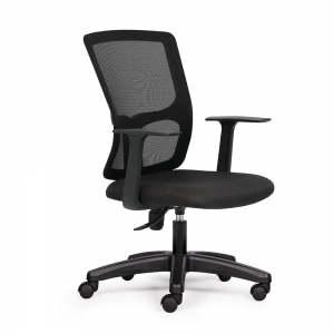 HOM1021-02 - Ghế xoay văn phòng chân nhựa