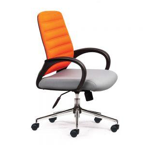 HOM1018-01 - Ghế văn phòng chân xoay tay liền