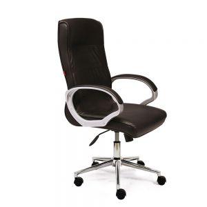 HOM1071-01 - Ghế xoay văn phòng lưng cao nệm bọc da