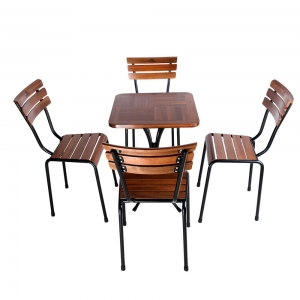 CBCF038 - Combo bộ bàn ghế cafe ngoài trời Kite