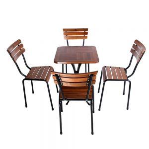 Combo bộ bàn ghế cafe ngoài trời Kite CBCF038