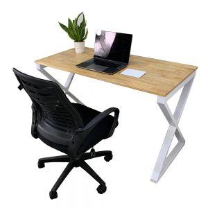 Combo bàn làm việc XConcept và ghế văn phòng chân xoay CB68066