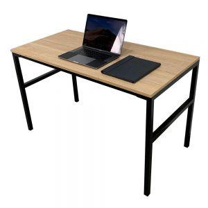 Bàn làm việc gỗ Plywood chân chữ U lắp ráp HOBP025