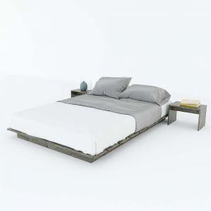 Giường ngủ SAMA gỗ cao su GN68024