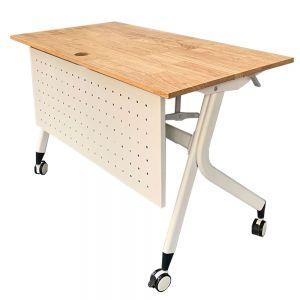 Bàn văn phòng gấp gọn gỗ cao su hệ Masa HBMS005