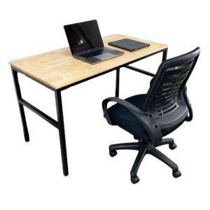 Combo bàn làm việc SIBA chân chữ U và ghế xoay văn phòng CB68082
