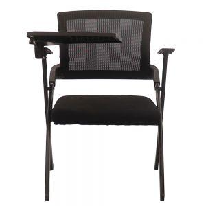 Ghế xếp văn phòng  nệm đen có bàn HOM1092-01
