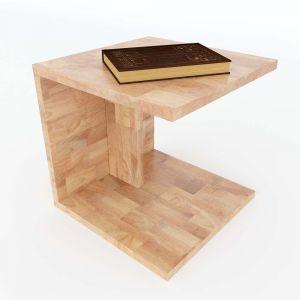 Kệ để đầu giường đơn giản gỗ cao su tự nhiên TDG68026