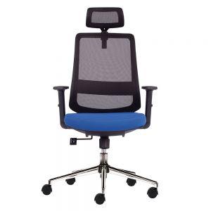 Ghế văn phòng chân xoay có tựa đầu HOM1080-01