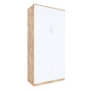 Tủ hồ sơ cửa mở có khóa 4 tầng gỗ cao su THS68043