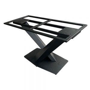 Chân bàn sắt chữ X kiểu sơn tĩnh điện CHB68040