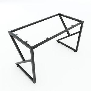 Chân bàn sắt lắp ráp 120x60cm chữ K hệ Minimal HCMN004