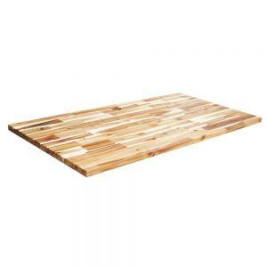 Mặt bàn gỗ tràm dày 25mm hoàn thiện  MB006