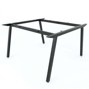 Chân bàn sắt cụm 2 120x120cm hệ PLY lắp ráp HCPL012