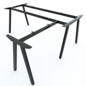 Chân bàn sắt chữ L 180x160cm hệ PLY lắp ráp HCPL020