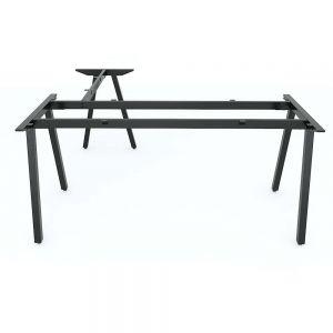 Chân bàn sắt chữ L 160x150cm hệ PLY lắp ráp HCPL018