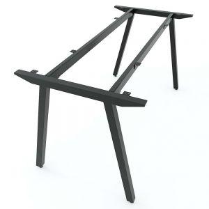 Chân bàn sắt 140x70cm hệ PLY lắp ráp HCPL004