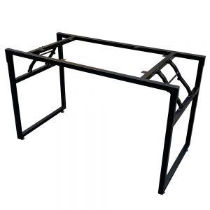 Chân sắt gấp gọn cho bàn 120x60x75cm CHB68041