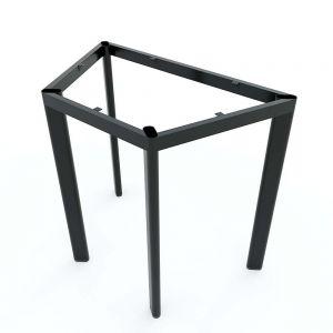 Chân sắt bàn hình thang mini 88x50x75cm hệ Lego sắt Oval HCLG003