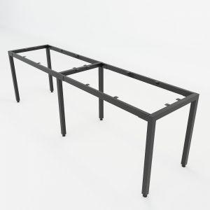 Chân sắt lắp ráp bàn cụm 2 nối tiếp 60x240cm hệ Uconcept HCUC024