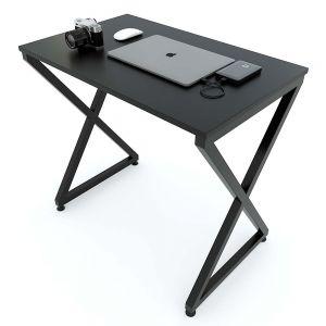 Bàn Mini 80x50x75(cm) gỗ cao su chân chữ X lắp ráp IDE68014