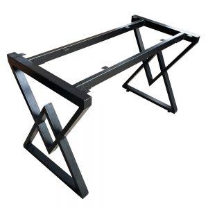 Chân bàn kim cương lắp ráp ngàm cho bàn 120x60cm CHB68043