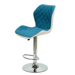 Ghế bar mâm xoay nệm vải nhiều màu GAK006