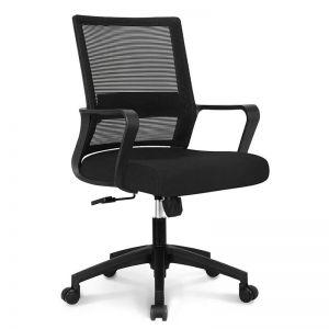 Ghế xoay văn phòng chân nhựa HANZO 03 GCT006
