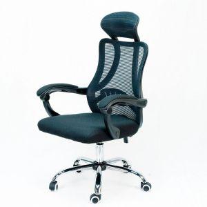 Ghế văn phòng chân xoay có tựa đầu HOGVP124