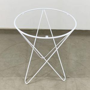 Chân bàn Cafe sắt 4 chữ V mặt tròn CHBCF011