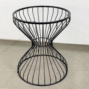 Chân sắt bàn Cafe đồng hồ cát ( mặt tròn 60cm) CHBCF009