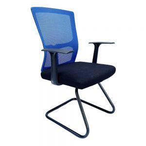 Ghế chân quỳ tay rời lưng lưới xanh dương  MFW15QX