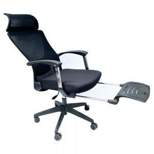 Ghế ngả nằm lưng lưới có tựa đầu và gác chân MFTP739D