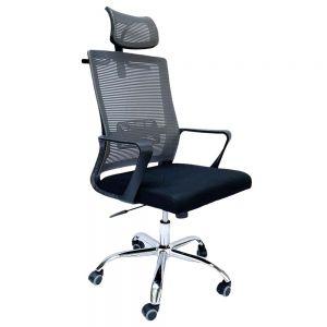 Ghế văn phòng lưng lưới có tựa đầu MF168