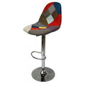 Ghế bar mâm xoay nệm vải nhiều màu MFH320