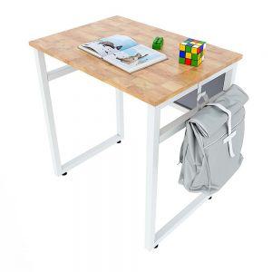 Bàn học đơn NEMO 01 gỗ cao su chân sắt sơn tĩnh điện PSD016
