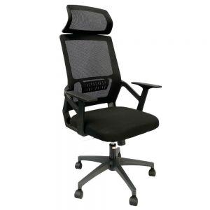 Ghế văn phòng lưng lưới có tựa đầu MF716A