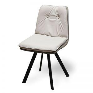 Ghế ăn mặt nệm 2 lớp chân sắt sơn tĩnh điện GAK185