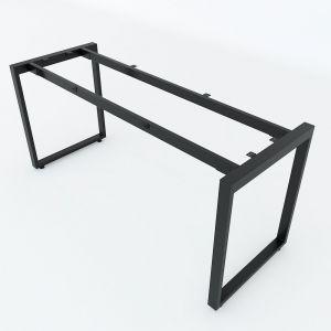 Chân sắt bàn làm việc hệ Rectang 160x60cm lắp ráp HCRT025