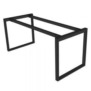 Chân sắt bàn làm việc hệ Rectang 160x70cm lắp ráp HCRT026