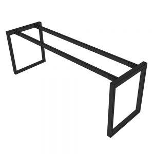 Chân sắt bàn làm việc hệ Rectang 200x60cm lắp ráp HCRT027